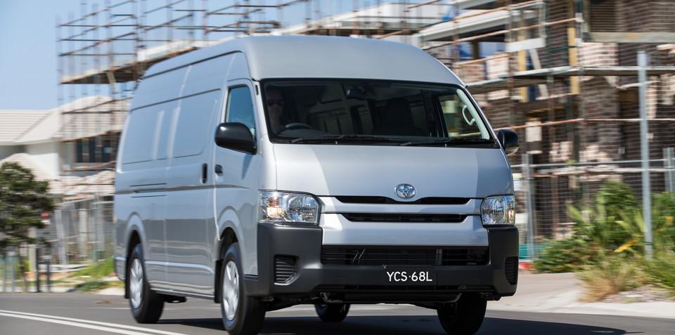 Toyota HiAce gets a range of updates