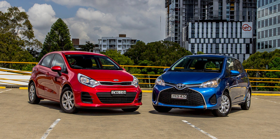 Kia Rio V Toyota Yaris Comparison Review