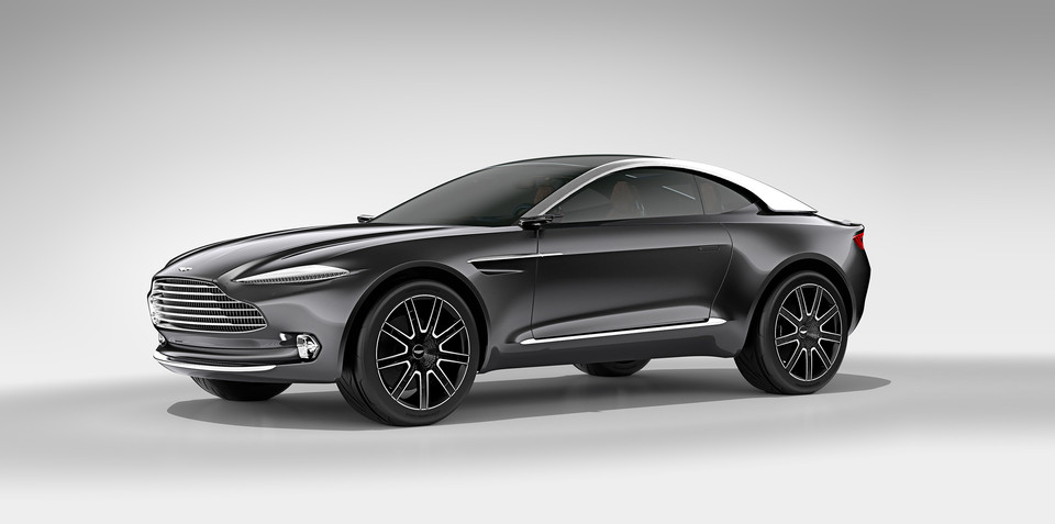 Aston Martin DBX Concept breaks new ground at Geneva