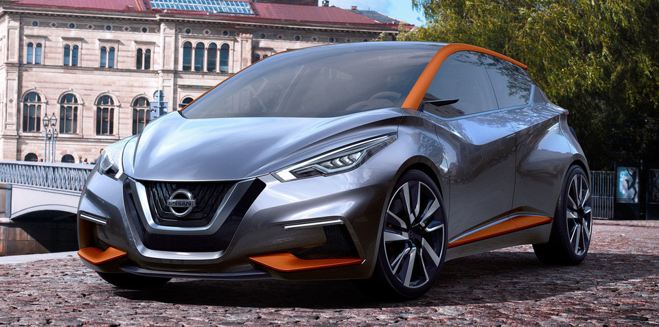 Nissan Sway compact hatch concept unveiled in full