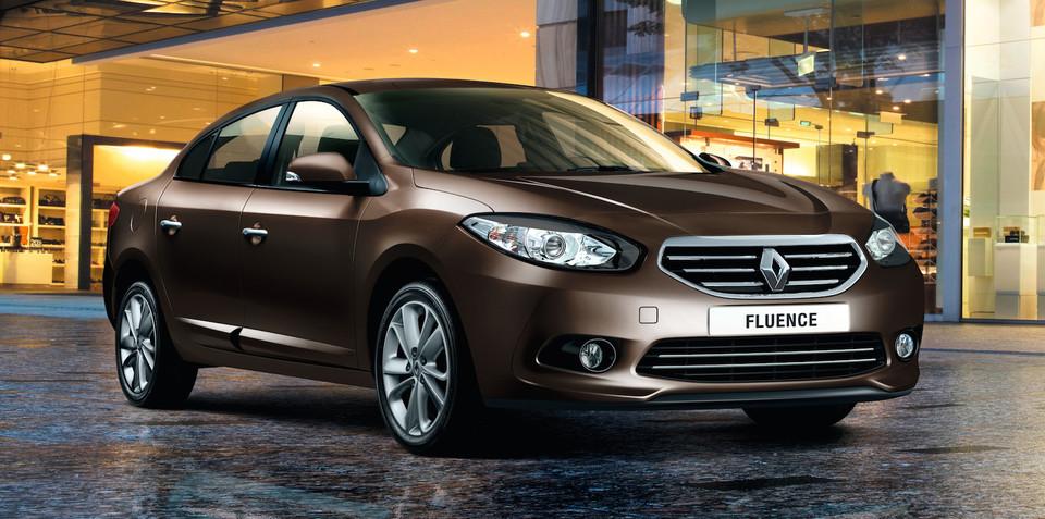 Renault Fluence dropped from Australian range