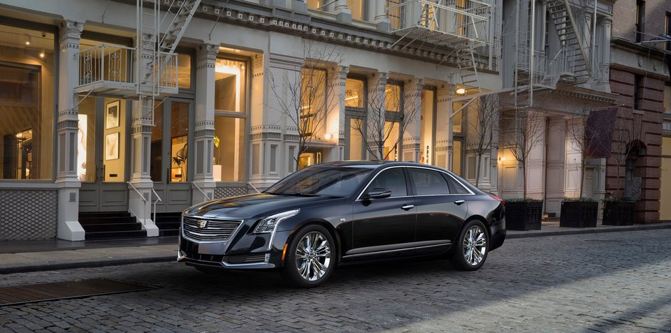 Cadillac CT6 includes first surround-view recording system