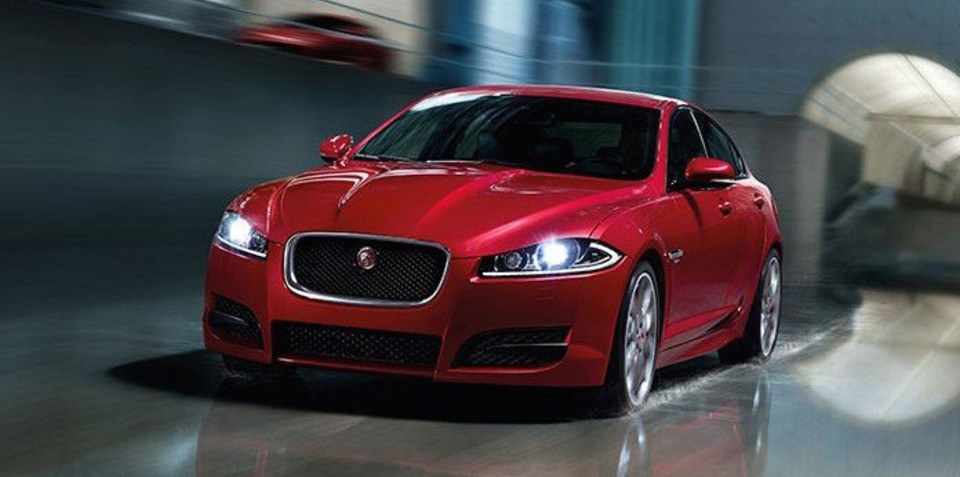 jaguar xf r sport variant sees out current generation model. Black Bedroom Furniture Sets. Home Design Ideas
