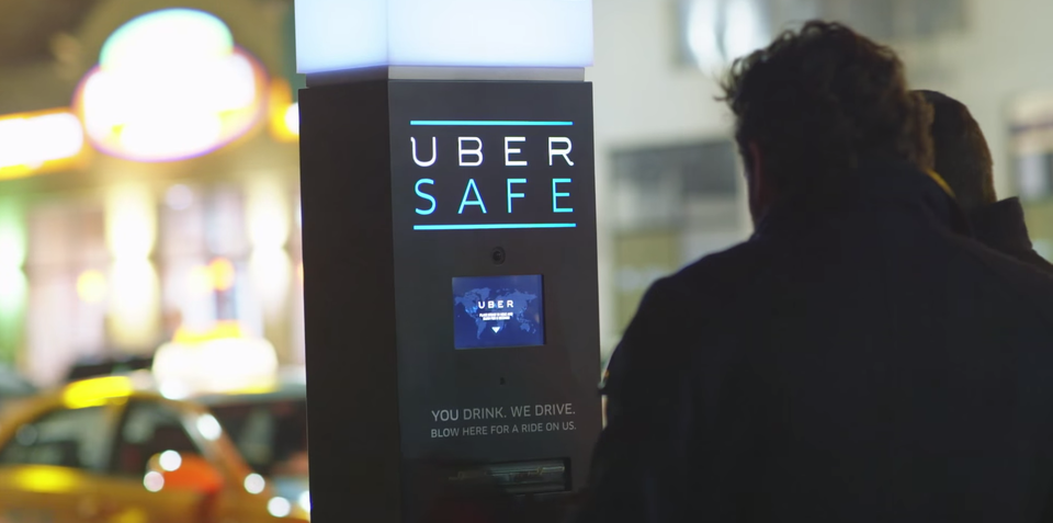 Uber Safe Breathalyser aims to prevent drink-driving