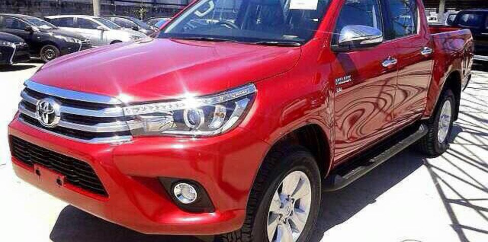 2016 Toyota HiLux interior and exterior leaked again, days ahead of official reveal