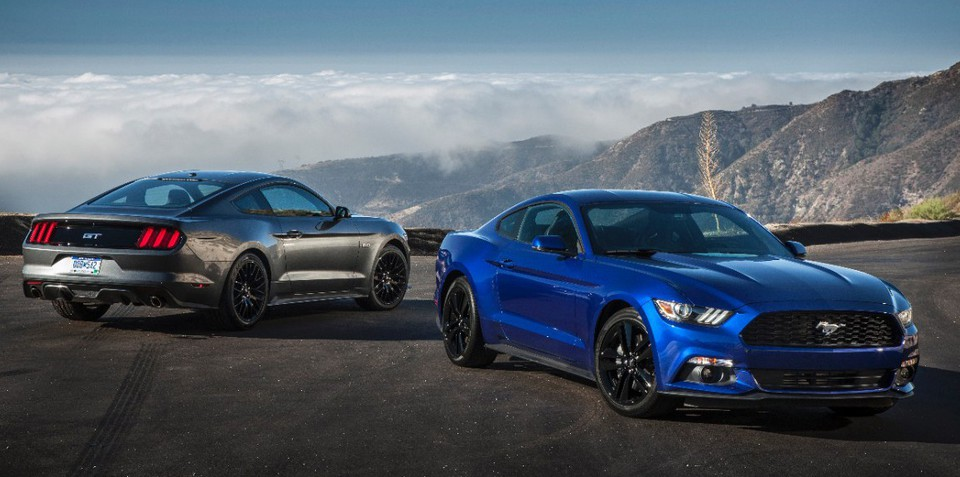 2015 Ford Mustang :: Australian deposits top 2000, six months from launch