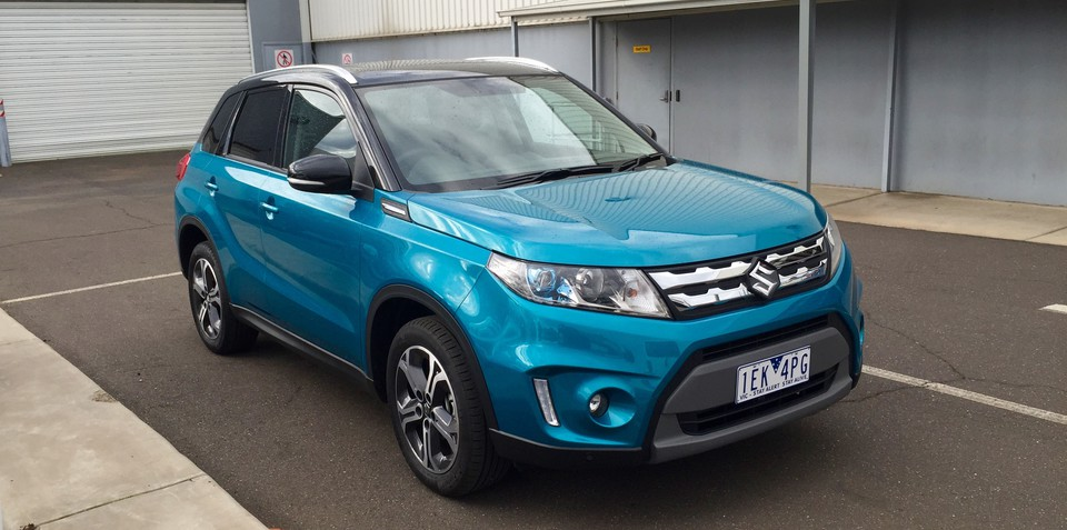 2015 suzuki vitara in melbourne ahead of august launch. Black Bedroom Furniture Sets. Home Design Ideas
