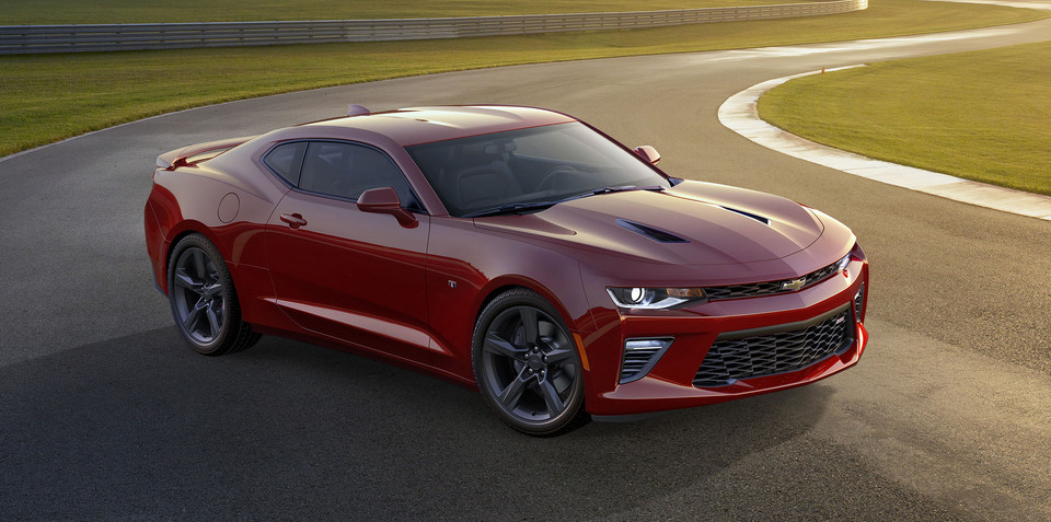 2016 Chevrolet Camaro unveiled