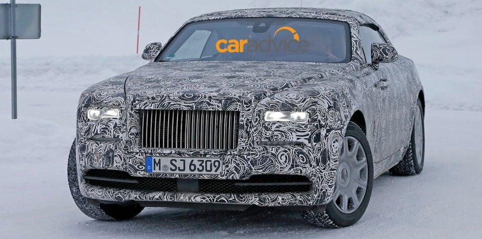 Rolls-Royce Dawn : Wraith drophead name announced, launching in Q1 2016