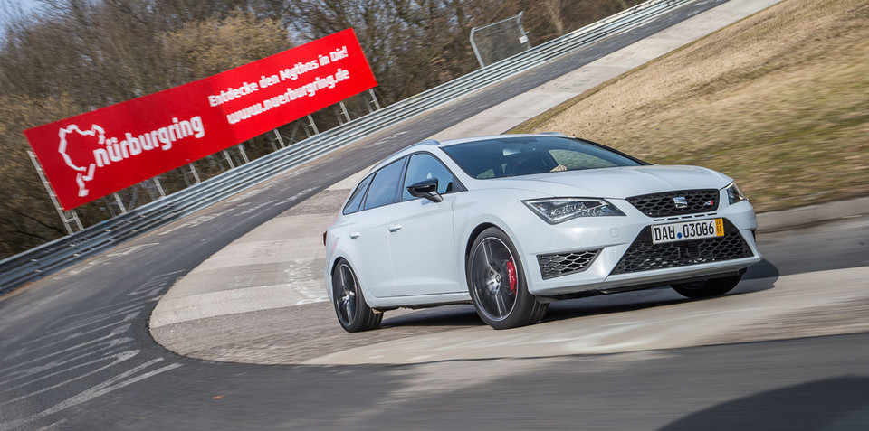 Seat Leon ST Cupra becomes fastest wagon around the Nurburgring