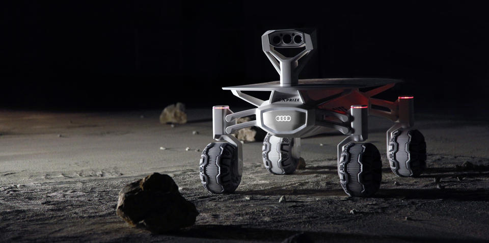 Audi on a mission to the moon