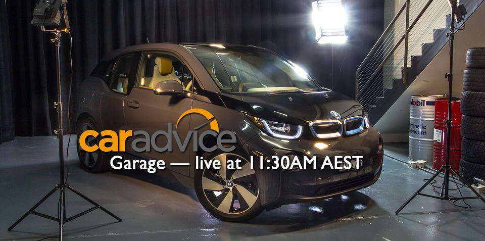 The CarAdvice Garage —live interactive video stream 11:30AM AEST 13/07