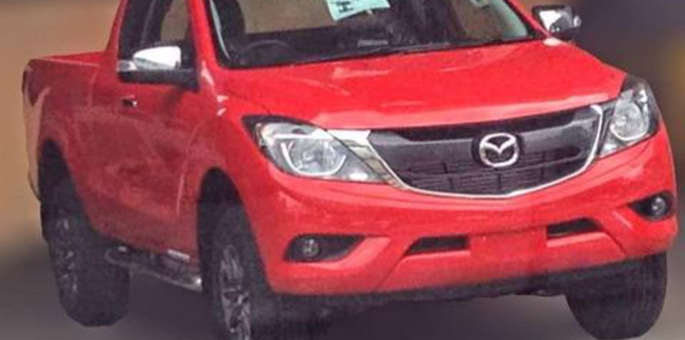 2015 Mazda BT-50 update leaks online