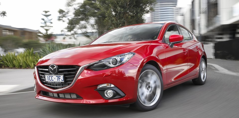 Mazda won't challenge Toyota for top spot on Australian sales charts
