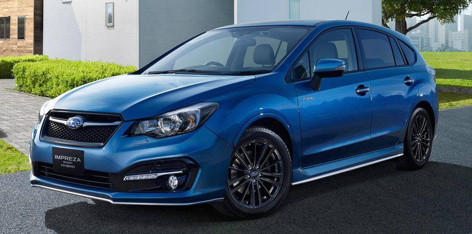 Subaru Impreza Sport Hybrid revealed, ruled out for Australia