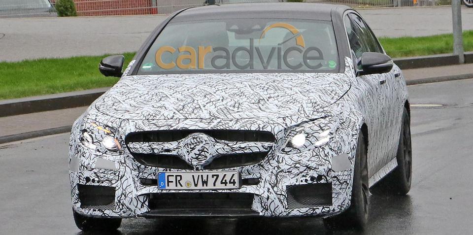 2017 Mercedes-AMG E63 spied