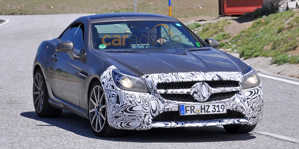 "Mercedes-Benz ""SLC"" spy photos"