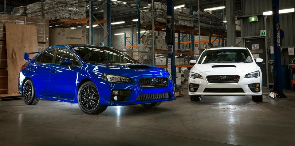 Subaru Australia confirms motorsport involvement with limited WRX STI imports