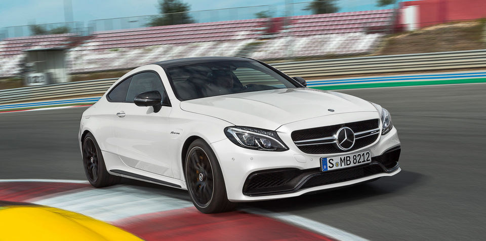 2016 mercedes amg c63 coupe revealed. Black Bedroom Furniture Sets. Home Design Ideas