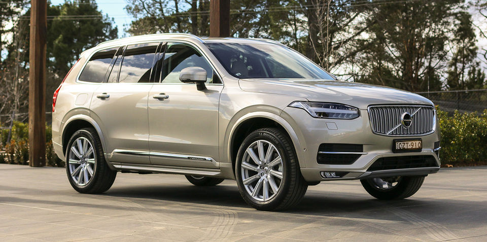 All-new Volvo XC90 flying out showroom doors