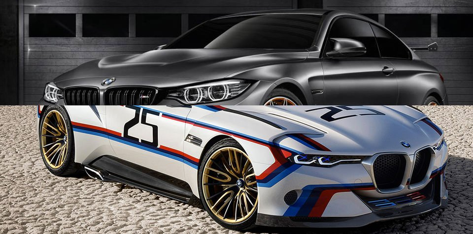 BMW M4 GTS, 3.0 CSL Hommage R concepts revealed for Pebble Beach show