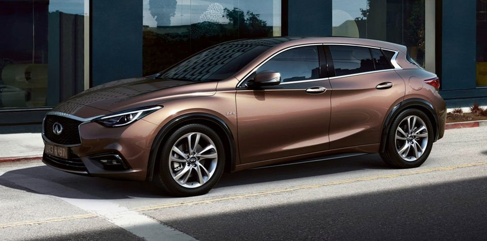 Infiniti Q30 revealed further ahead of Frankfurt motor show debut