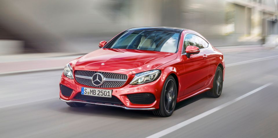 2016 MercedesBenz CClass Coupe revealed