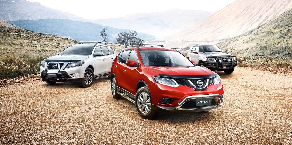 Nissan X-Trail, Pathfinder, Patrol N-Trek limited editions released