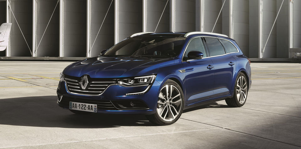 Renault Talisman wagon revealed ahead of Frankfurt