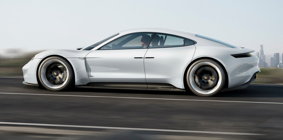 Porsche hopes to sell 20,000 Mission E sedans each year - report