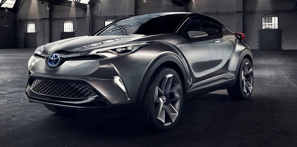 Toyota C-HR SUV to make production leap at Geneva motor show