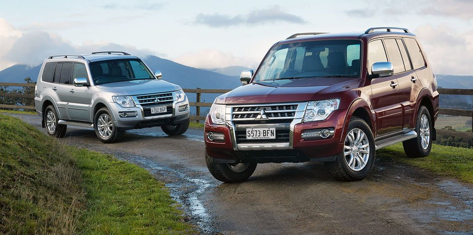 2016 Mitsubishi Pajero drops manual, gains Apple Carplay, Android Auto and Digital Radio