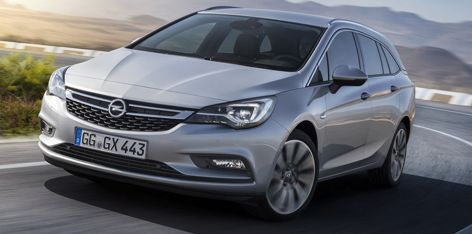 2016 Opel Astra Sports Tourer wagon revealed for Frankfurt ...
