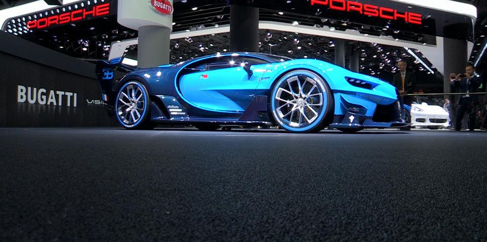bugatti vision gran turismo concept walkaround at 2015 frankfurt motor show. Black Bedroom Furniture Sets. Home Design Ideas