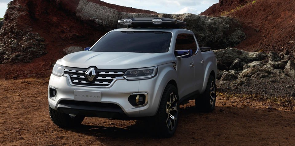 Renault Alaskan ute concept: Navara-based French one-tonne ute previewed