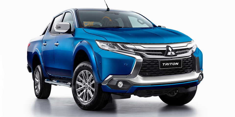 Mitsubishi Triton gets the Dynamic Shield styling treatment