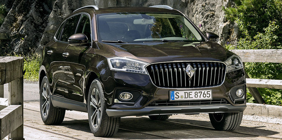 Borgward BX7 SUV revealed