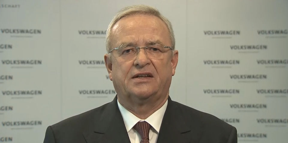 Volkswagen CEO resigns in the wake of emissions cheating scandal
