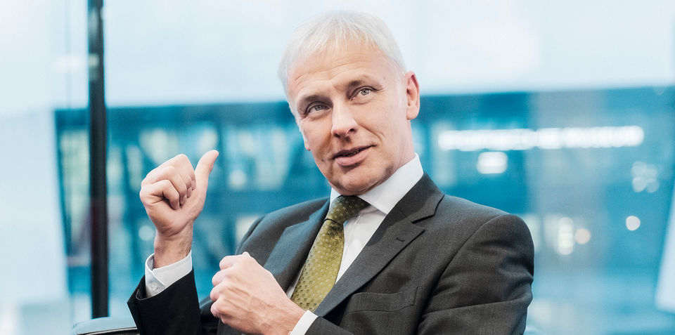 "Volkswagen CEO targets ""qualitative growth"" rather than sales numbers"