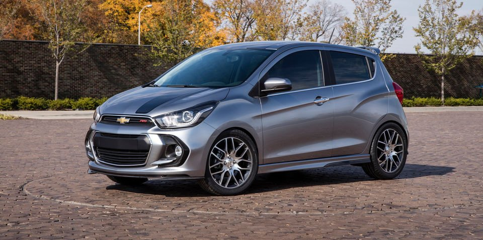 Chevrolet Spark RS revealed for SEMA: Could a hot Holden Spark appear?