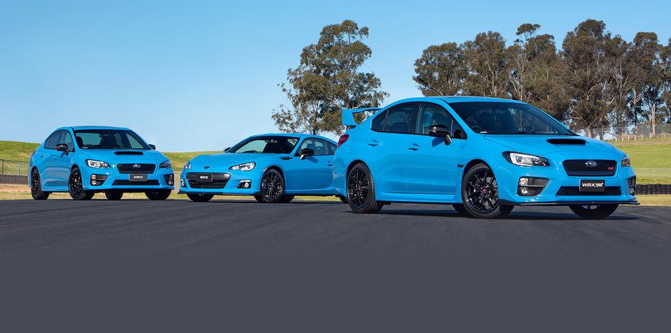 Subaru WRX, WRX STI and BRZ Hyper Blue specials on sale in ...