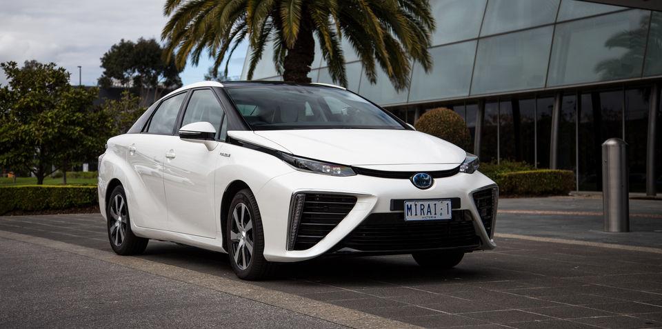 Toyota Mirai: hydrogen fuel cell vehicle lands on Australian roads
