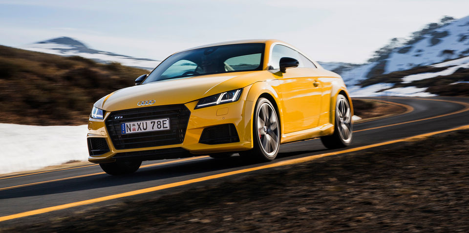 2016 Audi TT S pricing and specifications