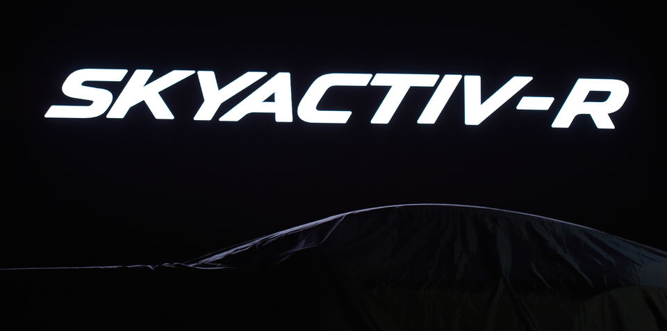Mazda SkyACTIV-R rotary engine: for RX sports car only; no platform sharing with MX-5