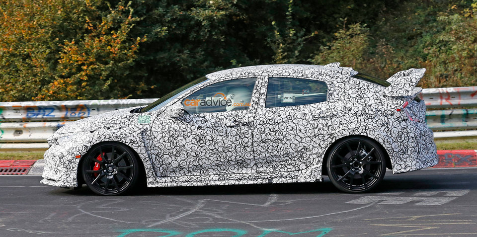 2017 Honda Civic Type-R: manual-only hatch 'will be fastest at the Nurburgring'