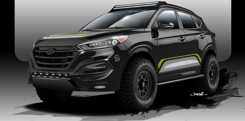 New Hyundai Tucson gets weekend-warrior upgrade for SEMA show