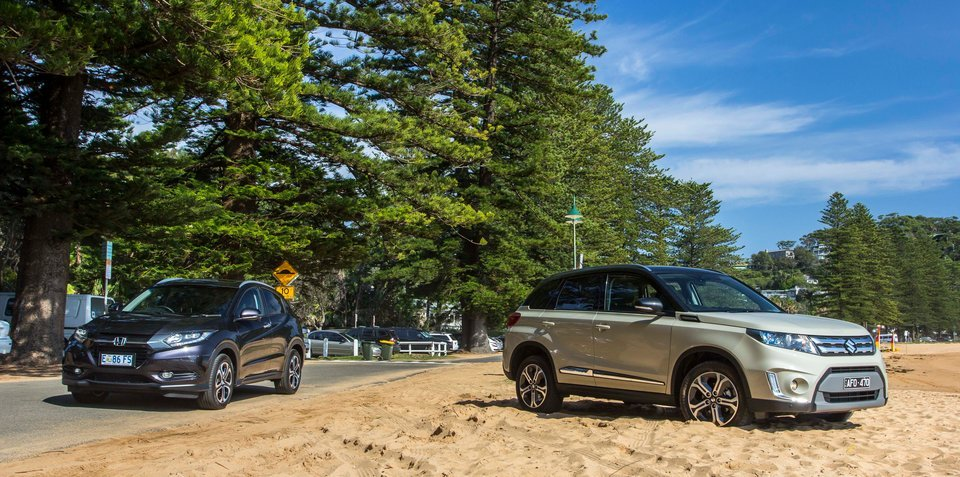 Honda HR-V v Suzuki Vitara : Comparison Review