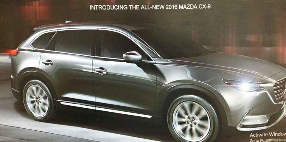 2016 Mazda CX-9 revealed in leaked browser images