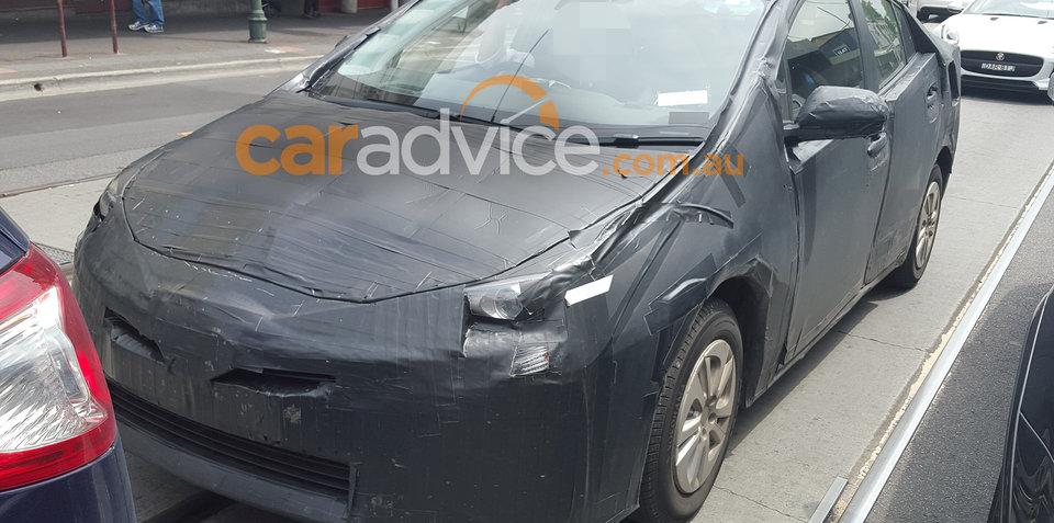 2016 Toyota Prius spied testing in Australia