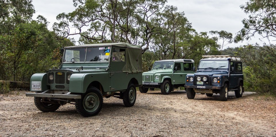 Land Rover Defender old v new comparison: 1948 Series 1 v 1991 Defender 90 v 2016 Defender 90 Heritage Edition